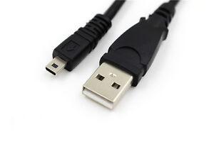 USB PC Data SYNC Cable Cord For Panasonic Lumix CAMERA K1HY08YY0030 K1HY08YY0025