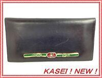Auth Roberta di Camerino Bifold Wallet Leather Black 5l400810s