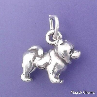 f2450 925 Sterling Silver 3-D BABY PACIFIER Charm Pendant