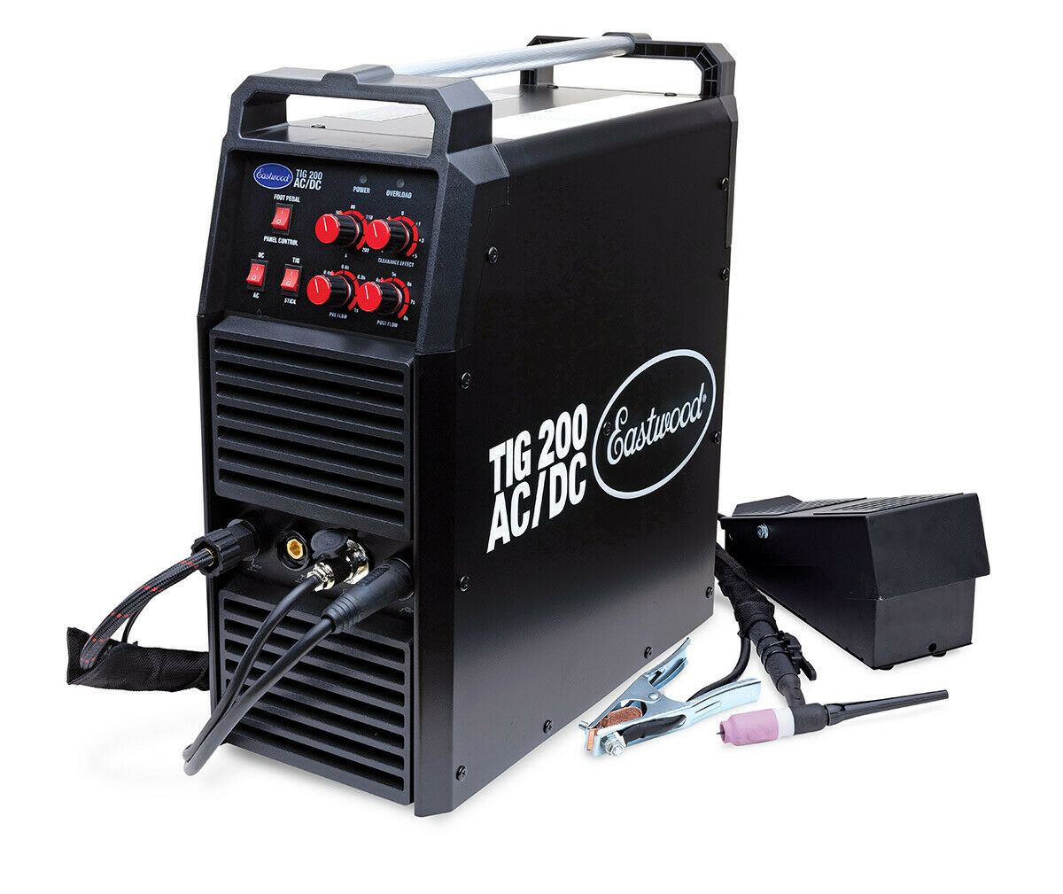 33920 eastwoodcompany Eastwood 200 AMP AC/DC TIG Welder With 1/4 Thick Welding Capacity