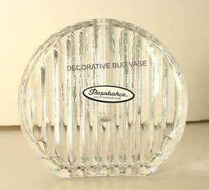 Pasabahce-Handmade-Art-Glass-Decorative-Flower-Bud-Vase-Made-in-Turkey-NEW-NWT