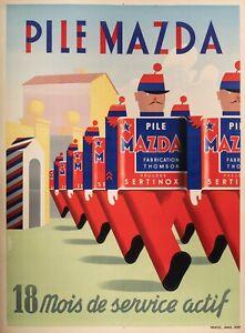Original-Vintage-Poster-Simon-A-Pile-Mazda-THOMSON-sertinox-1939