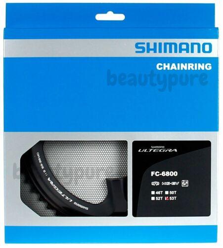 Shimano Ultegra FC-6800 Outer//Inner Chainrings Genuine NIB 53T /& 39T