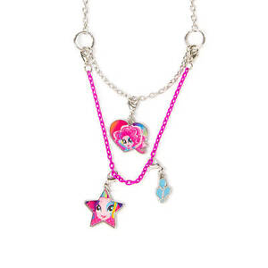 My little pony pinkie pie necklace equestria girls 3 in 1 hasbro mlp image is loading my little pony pinkie pie necklace equestria girls aloadofball Gallery