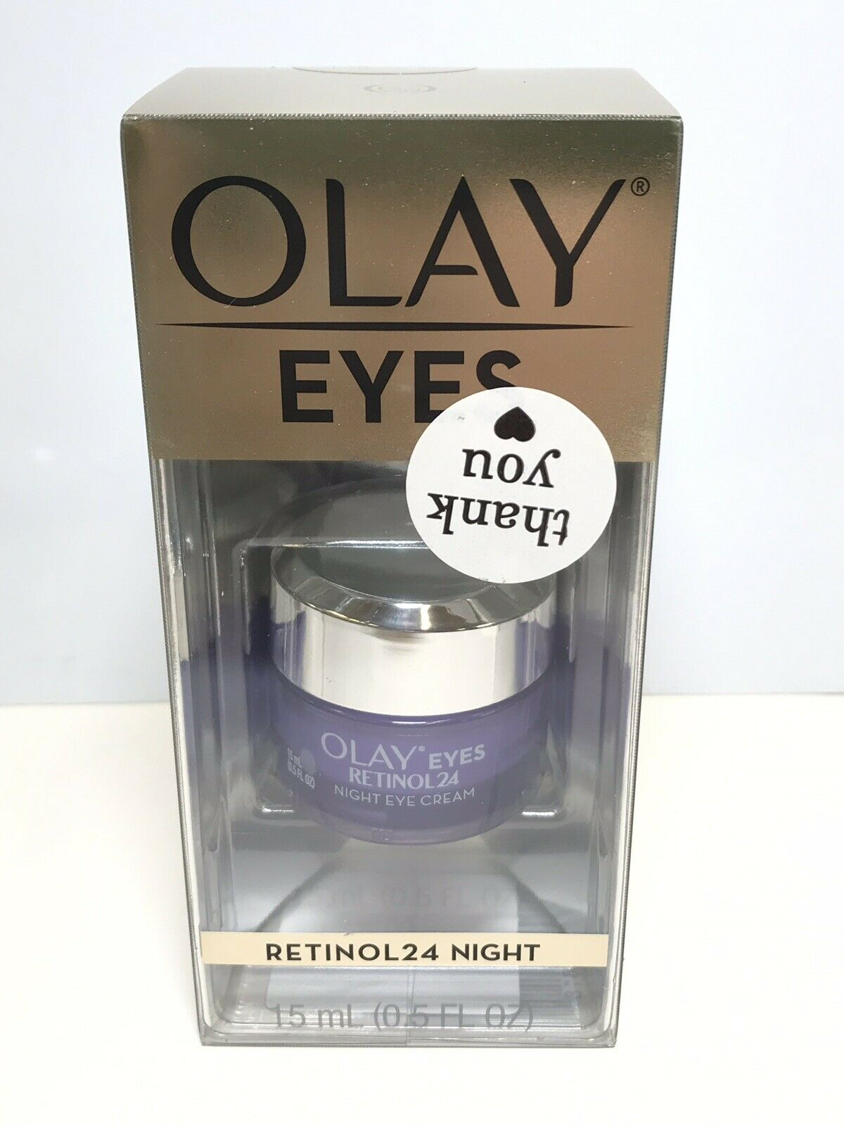 Olay Regenerist Retinol 24 Night Eye Cream 0 5oz For Sale Online