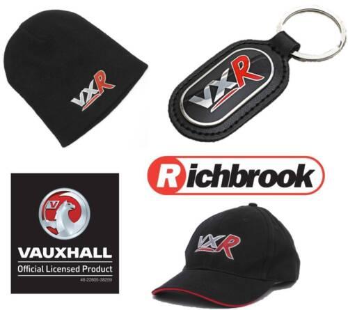 Richbrook Car Show Vauxhall VXR Logo Baseball Cap Beanie Hat /& Keyring Gift Set