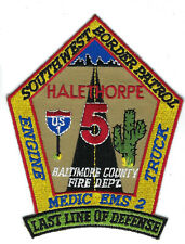 Baltimore City Fire Service Department Patch Maryland MD v4
