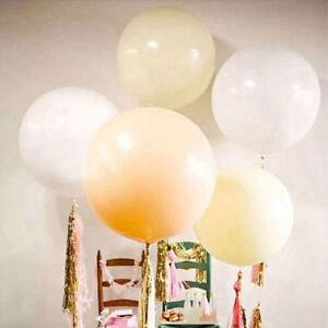 "36/""Inch Giant Big Ballon Latex Birthday Wedding Party Helium Decor Romantic Gj"