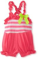 Rare Editions Baby Girls Knit Romper Size 6 Months Pink