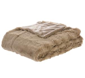 Furry Throw Blanket Cute Fluffy Women Men Faux Fur Reversible Sand ... a42e63c593