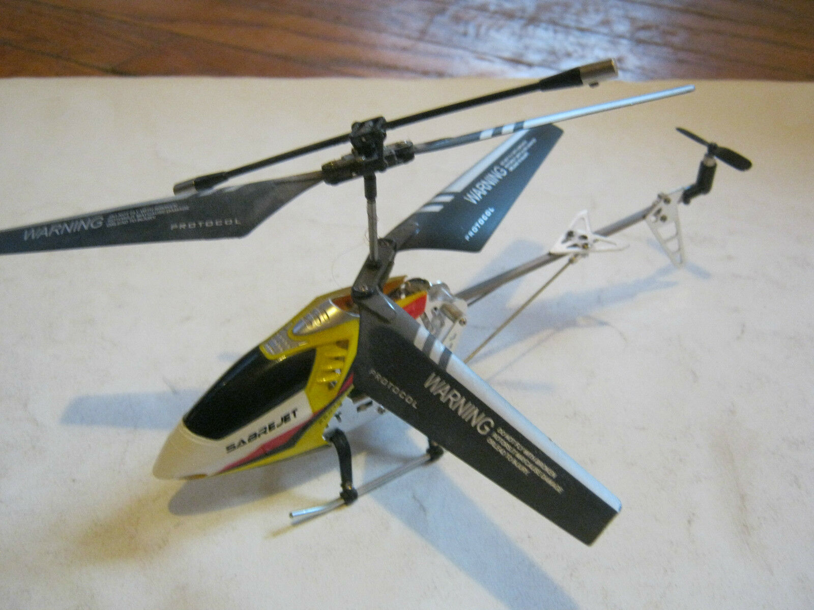 Sabre Jet Protocall Radio Control Helicopter, great condition  GS28-5