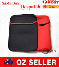9 10 10.2 10.1 inch IPAD TABLET PC Laptop NetBook Sleeve Case Pouch Black Red