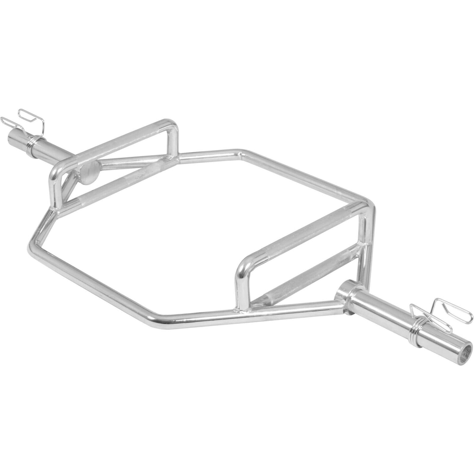 Gorilla Sports Trap Bares 50 51mm Olympia Barra Mancuerna Hexagon Hex-Bar