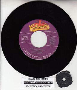 BOBBY-DARIN-Mack-The-Knife-amp-If-I-Were-A-Carpenter-45-record-NEW-title-strip