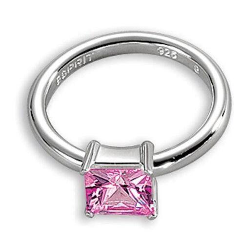 Silber Esprit Damenring Square Light Rose 42591499180  925//
