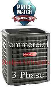 Details about GOODMAN Commercial 10 ton (208/230)3 phase 410a Condenser A/C