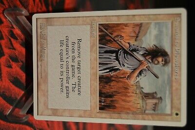 Top Presque comme neuf * 4th Edition MTG 1x Swords to Plowshares