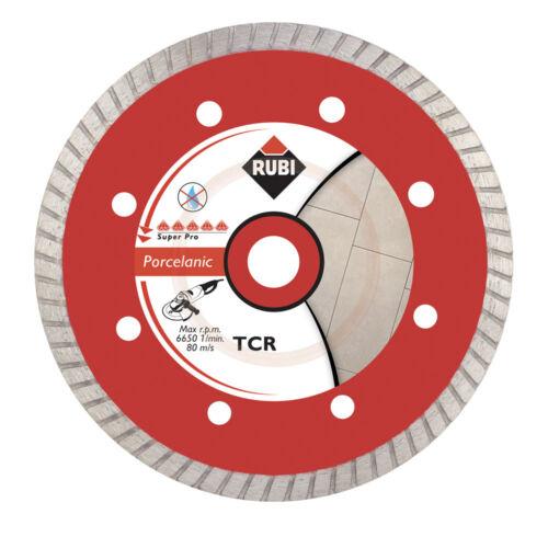 Rubi tcr 125 superpro turbo Diamant Meule de tronçonnage béton mouillé Diamant vitre