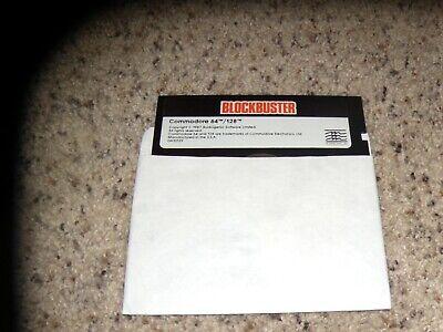"Adaptable Blockbuster Commodore 64/128 On 5.25"" Disk Van Het Grootste Gemak"