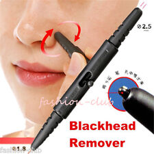 1x Pen Comedon Nose Forehead Dirt Extractor Stick Blackhead Remover Pore Cleaner