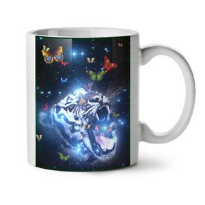 Tiger Face Space Animal NEW White Tea Coffee Mug 11 oz | Wellcoda