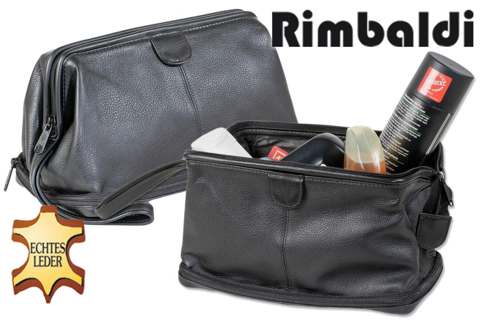 Rimbaldi culture sac en en cuir avec extrafach dans le sol en en noir 618552