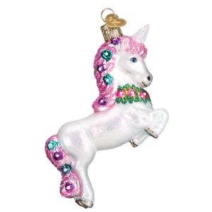 034-Prancing-Unicorn-034-12472-X-Old-World-Christmas-Glass-Ornament-w-OWC-Box