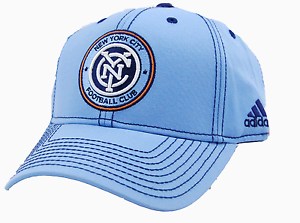 ee71ab1fd63 New York City Football Club adidas VR78Z MLS Sweep Soccer Team NYC ...
