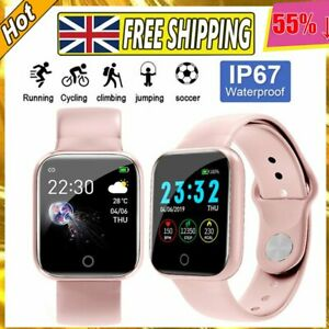 Fitness-Tracker Fitbit Smart Watch Pedometer Heart Rate Blood Pressure Monitor