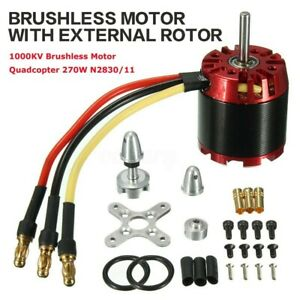 N2830 Brushless Motor For Drone Quadcopter Helicopter Aircraft Plane 1000KV 270W