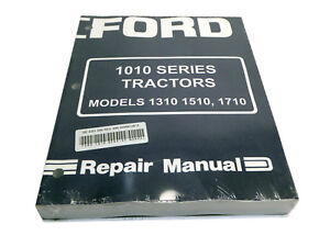Ford-1310-1510-1710-Tractor-Service-Manual-Repair-Shop-Book-NEW-w-Binder
