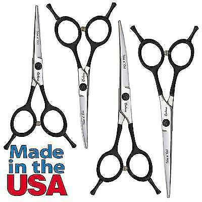 Geib Gator Trim 'n' Cut Dog & Pet Grooming Shears  2 Sizes Straight or Curved