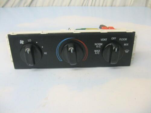 MERCURY GRAND MARQUIS AC HEATER MANUAL CLIMATE CONTROL SWITCH 1998-2011 OEM