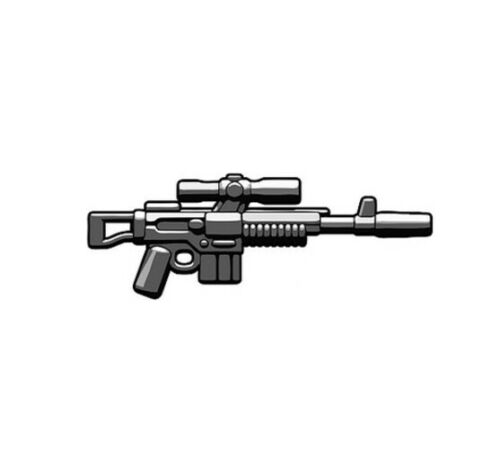 BrickArms Black A295 Rifle Weapons for Brick Minifigures