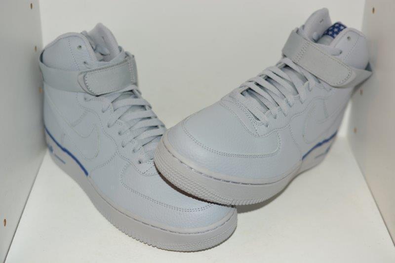 NIKE FORCE 1 Hi'07 para Hombre AIR Zapatos de baloncesto-para hombre Talla 9