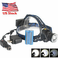 Led Headlamp T6 Rechargeable Headlight Ultra Bright Camping Lantern 3000lm