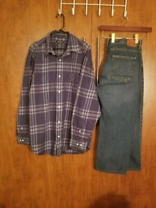 Nautica 99 Men's Shirt XL pour Both 27 10 38 X Jeans vvZwr