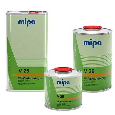 Mipa 2K Verdünnung Acrylverdünnung fü 2 Komponeten Grundierung Klarlack Decklack