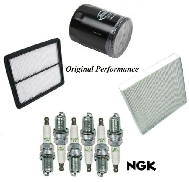 Tune Up Kit Air Cabin Oil Filters Spark Plugs For ACURA TL