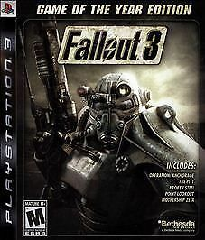fallout 3 game of the year edition sony playstation 3 2009 ebay