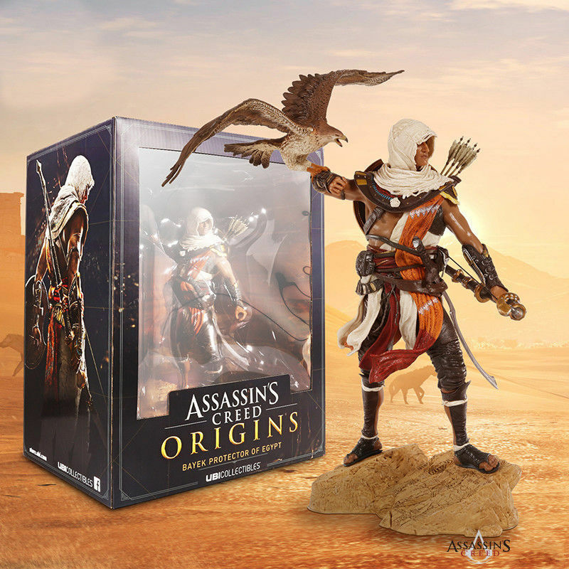 ASSASSIN'S CREED ORIGINS BAYEK PredECTOR OF EGYPT PVC ACTION FIGURE STATUE TOY