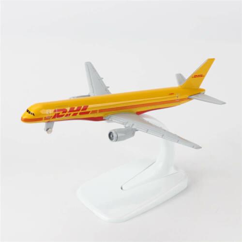 16cm Boeing 757 NEU DHL Luftlinie Flugzeug Druckguss Modell B-757