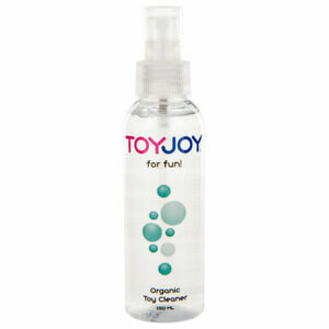 TOYJOY Organic Adult Sex Toy Cleaner Antibacterial Germ Hygiene150ml Spray Safe