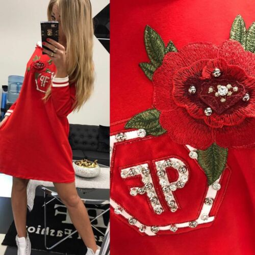Paparazzi Damenpullover Longshirt Tunika Bluse Kleid Longpulli 38-42 #P50