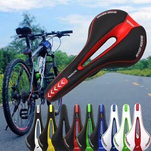 Comfort Mountain Bike MTB Saddle Seat Soft Cushion Pad Split Nose Bicycle Seat