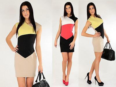 Stunning & Elegant Pencil Dress V-Neck Wiggle Office Formal Size 8-16 FA117