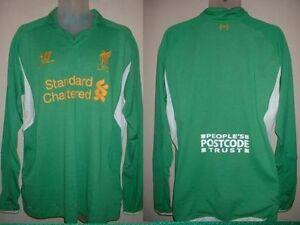 6fd46ec2c05 Image is loading Liverpool-Warrior-Goalkeeper-Goalie-Soccer-Shirt-Jersey- Adult-
