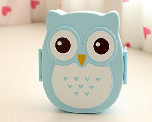 Hot Owl Bento Lunch Box Plastic Cute Cartoon Lunch Box Food Contain Bento Box