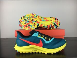 New-Nike-Air-Zoom-Pegasus-36-Trail-Teal-Mens-Running-Shoes-Green-AR5677-301