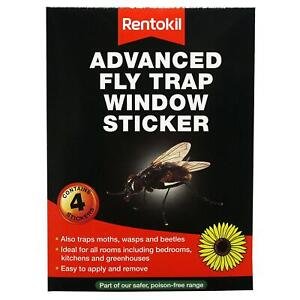 Rentokil-Window-Fly-Insect-Killer-Sticker-3-Month-Odourless-amp-Non-Sticky-4-Pack